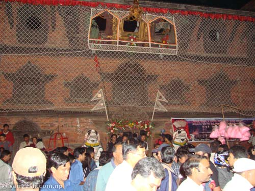 Kumari Ghar - front view