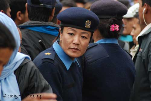 Female security personnel