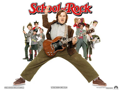 School of Rock - Wallpaper