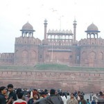 Red fort and the musical show