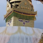 New look of Swayambhunath Temple (Monkey Temple)