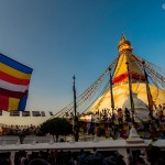 Boudha Nath Stupa on the evening of Buddha Jayanti