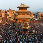 Observing Bisket Jatra of Bhaktapur