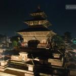 Dashai's nawami evening around Basantapur and Taleju Bhawani
